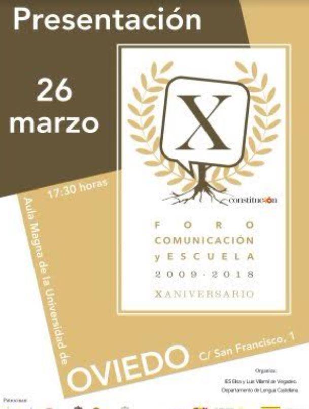 Presentación del décimo Foro Comunicación y Escuela