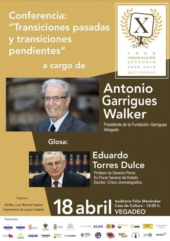 Antonio Garrigues Walker participa en el Foro