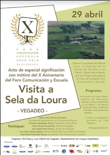 Homenaje a la localidad de Sela da Loura