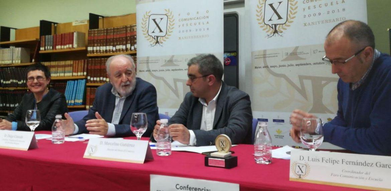 """Diego Carcedo: """"No es posible una democracia sin una prensa libre"""""""