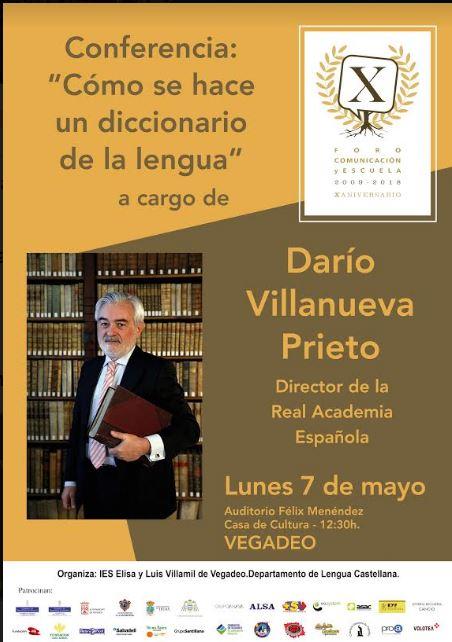 Conferencia del director de la Real Academia Española