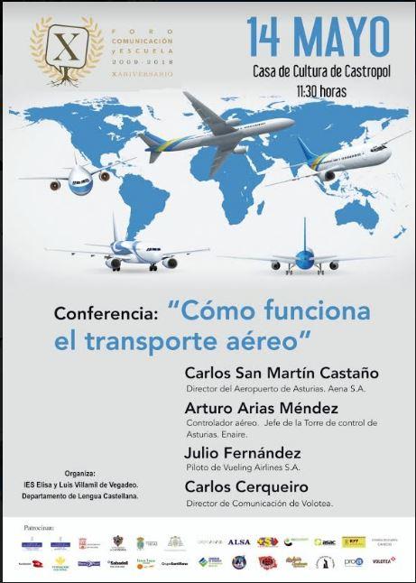 Conferencia sobre el funcionamiento del transporte aéreo