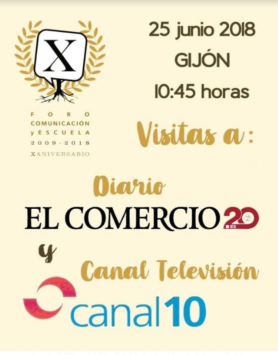 Visita al periódico El Comercio y Canal 10TV