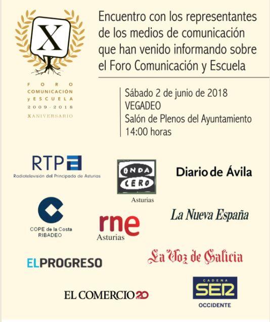 Jornada de homenaje a los medios de comunicación