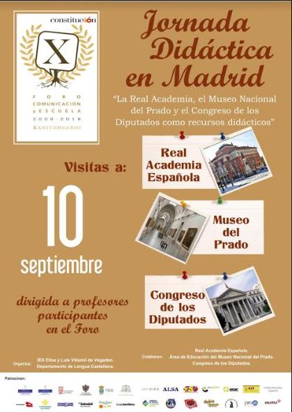 Jornada didáctica en Madrid