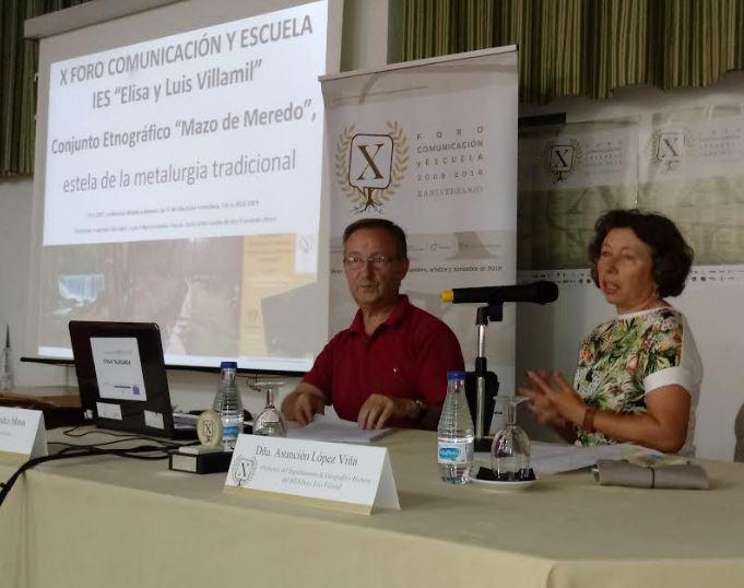 """José Fernández Mesa: """"El mazo de Meredo tuvo un destacado papel en la economía de esta comarca en el siglo pasado"""""""