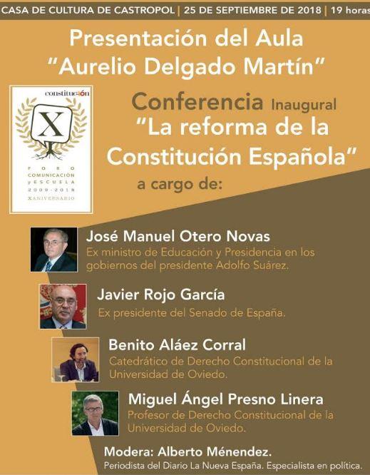El Foro inaugura el Aula Aurelio Delgado Martín