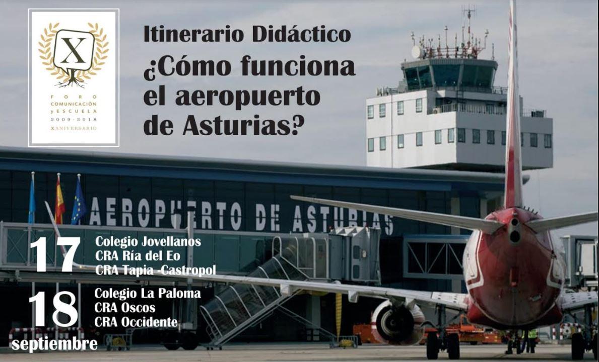 Itinerario didáctico: ¿Cómo funciona el Aeropuerto de Asturias?