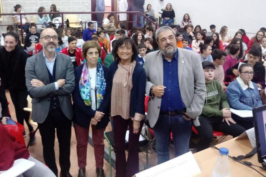 "Elisa Delibes en Navia: ""Mi padre era un firme defensor del medio rural"""