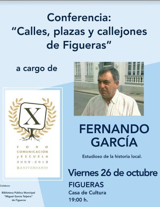 Conferencia  en Figueras sobre sus calles, plazas y callejas