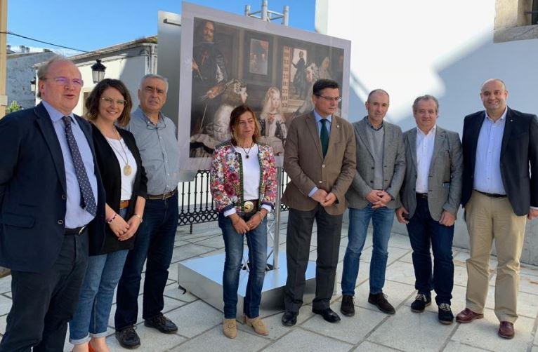 """La Mesa del Parlamento de Asturias visita la exposición """"El Museo del Prado sale a la calle"""""""