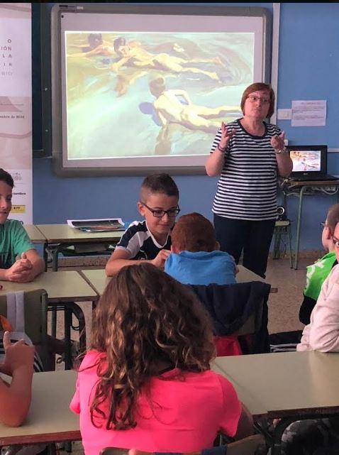 El Museo del Prado con los escolares de Vegadeo y Castropol