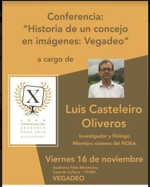 Interesante conferencia de Luis Castelerio