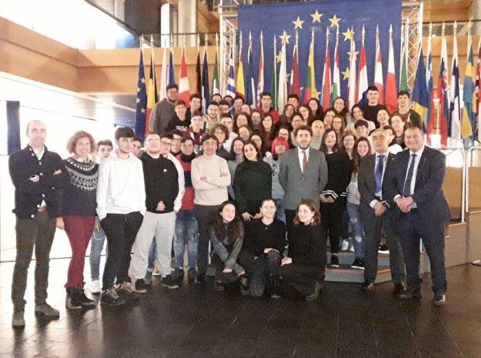 Visita al Parlamento Europeo de Estrasburgo
