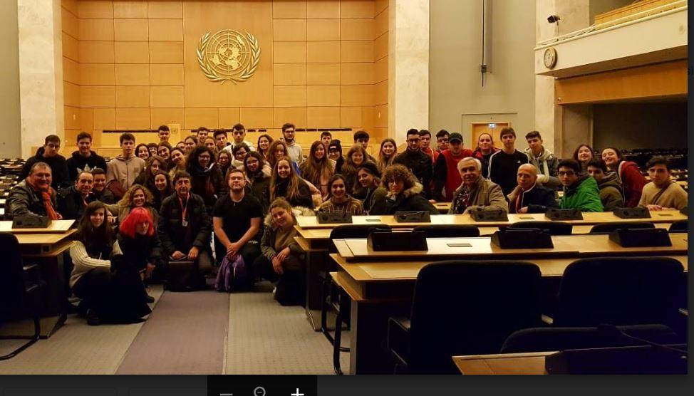 En la sede de la ONU en Ginebra