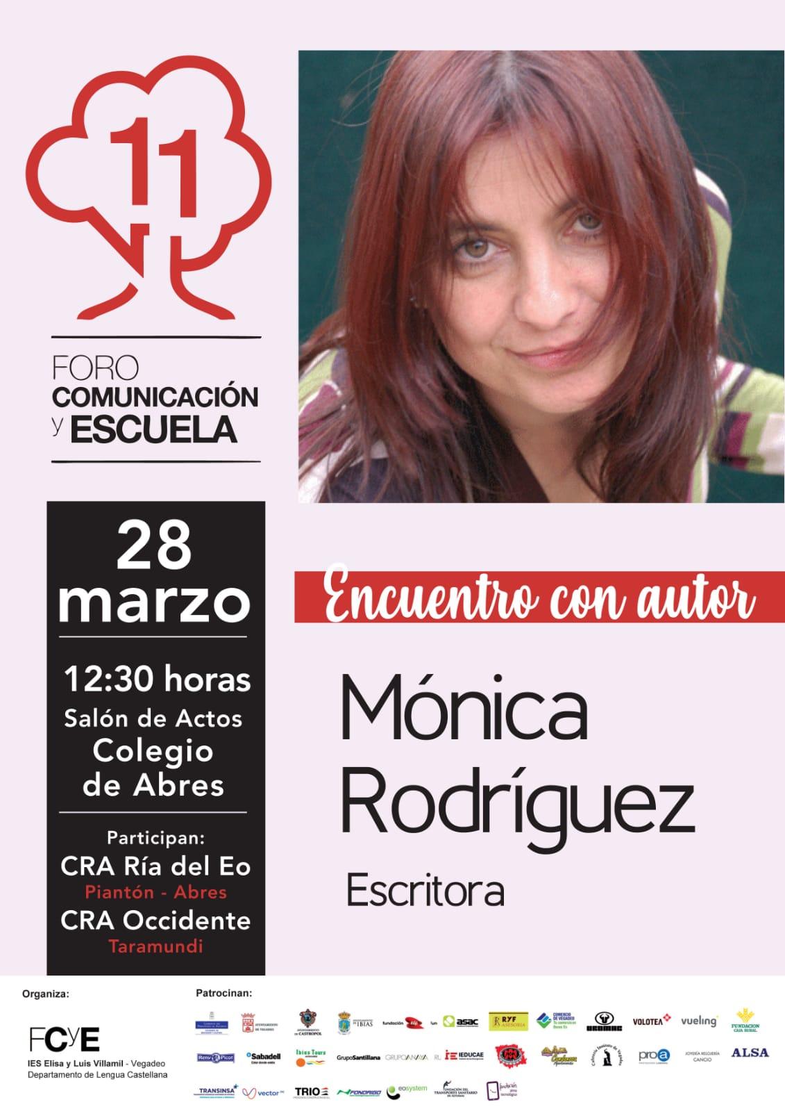 La escritora Mónica Rodríguez participa en el Foro