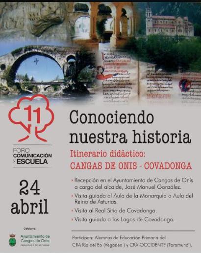 Viaje a Cangas de Onís y Covadonga para conocer nuestra Historia