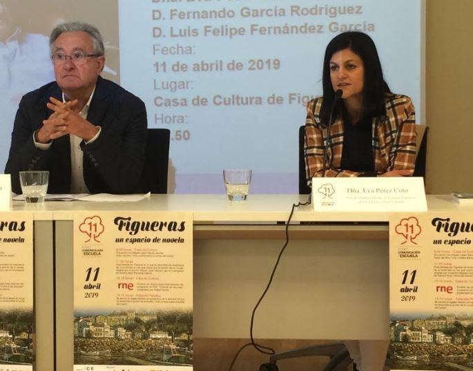 Jornada literaria en Figueras con el  escritor, Miguel López