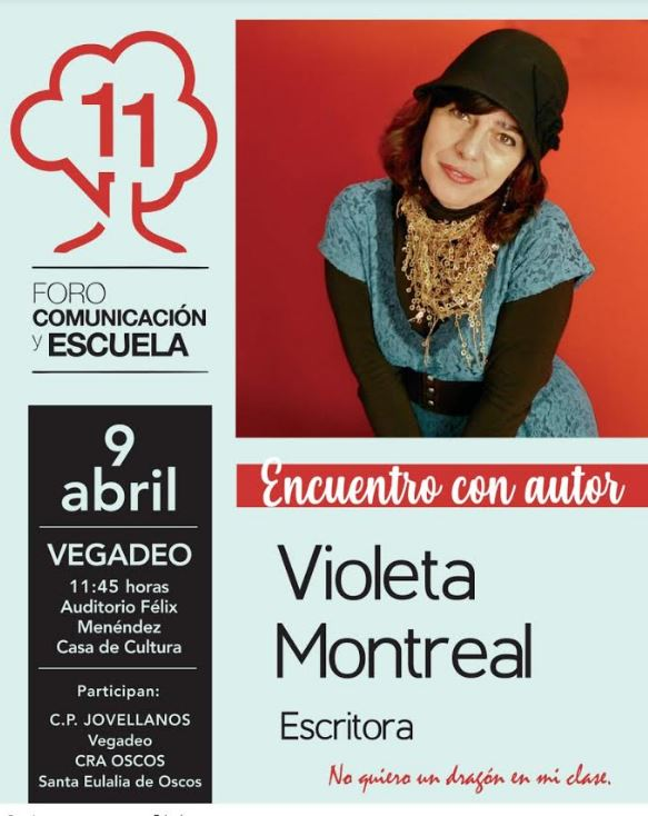 Encuentro literario con la escritora, Violeta Montreal