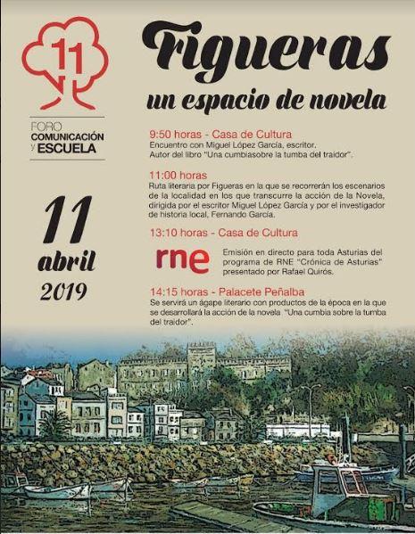 Jornada literaria en Figueras con RNE en directo