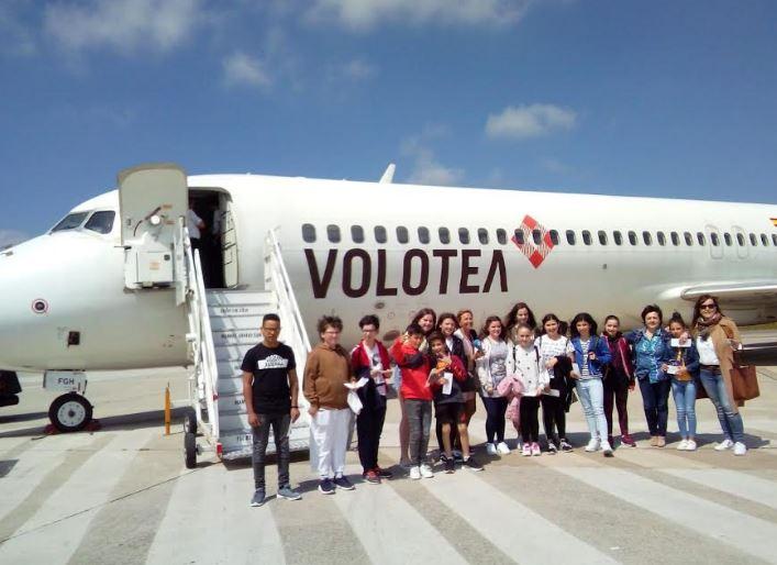 Volando a Mallorca con Volotea