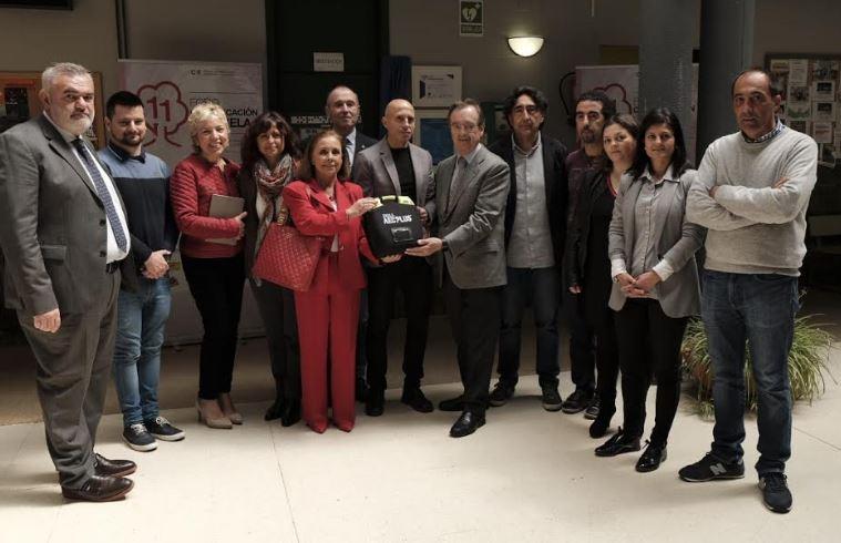 El Instituto Elisa y Luis Villamil, espacio educativo cardioprotegido