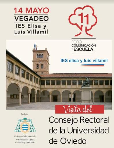 Visita del Consejo Rectoral de la Universidad de Oviedo