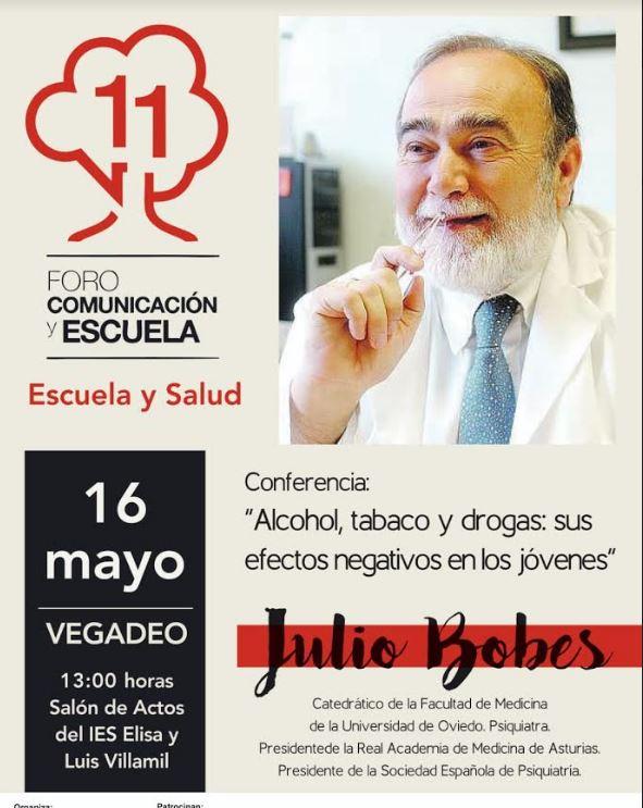 Conferencia del psiquiatra, Julio Bobes