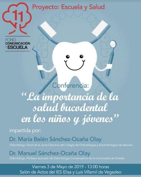 Proyecto Escuela y Salud: conferencia sobre la salud bucodental