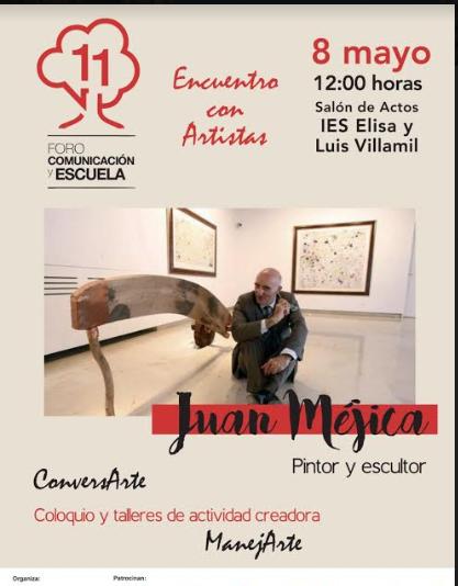 Juan Méjica participa en el XI Foro Comunicación y Escuela