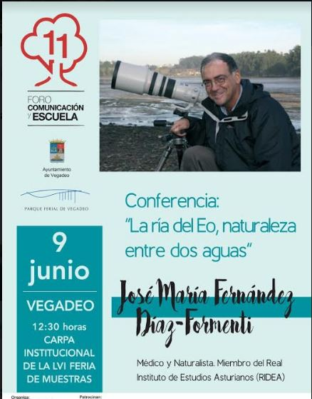 Conferencia  en la LXVI Feria de Muestras de Vegadeo