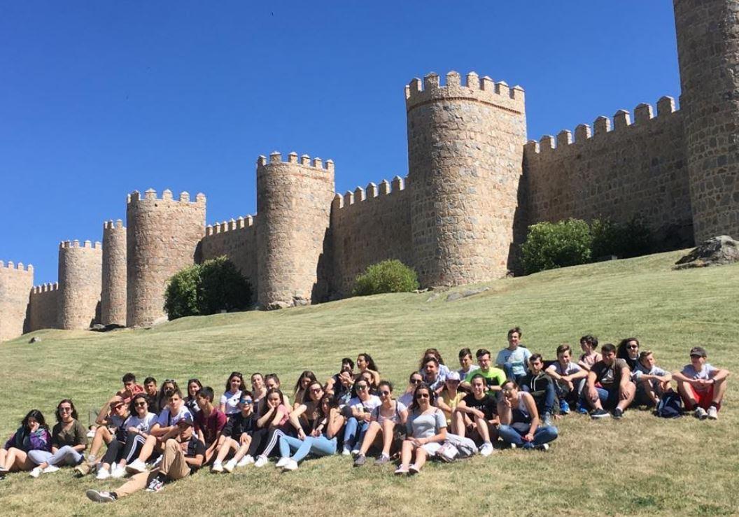 Comienza la visita a Ávila