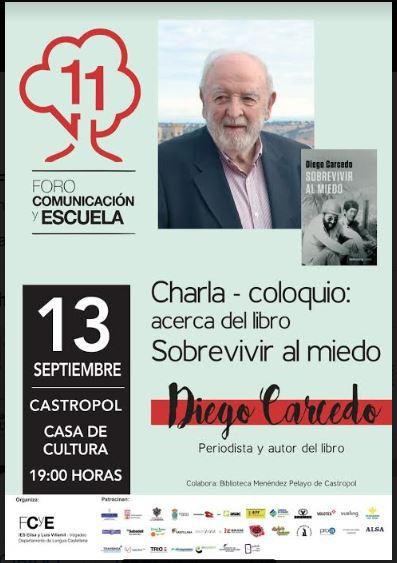 Diego Carcedo, próximo invitado del Foro
