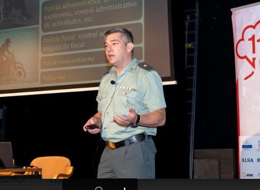 """Comandante Alejandro Anelo: """"La Guardia Civil requiere una gran vocación de servicio"""""""