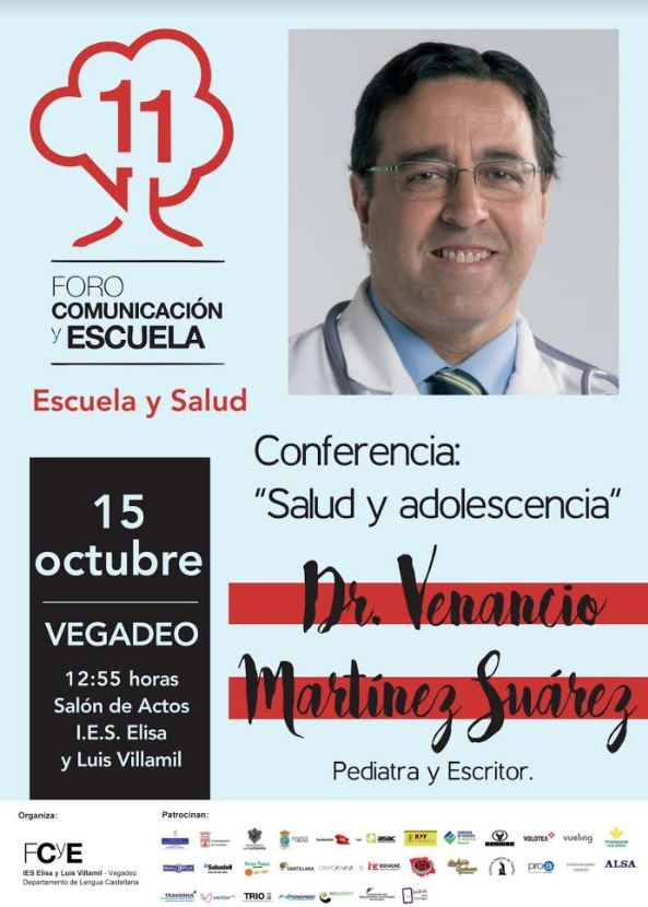 Conferencia del pediatra Venancio Martínez