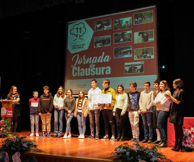 """Premiados los alumnos ganadores del concurso """"EL Foro en la nube"""""""