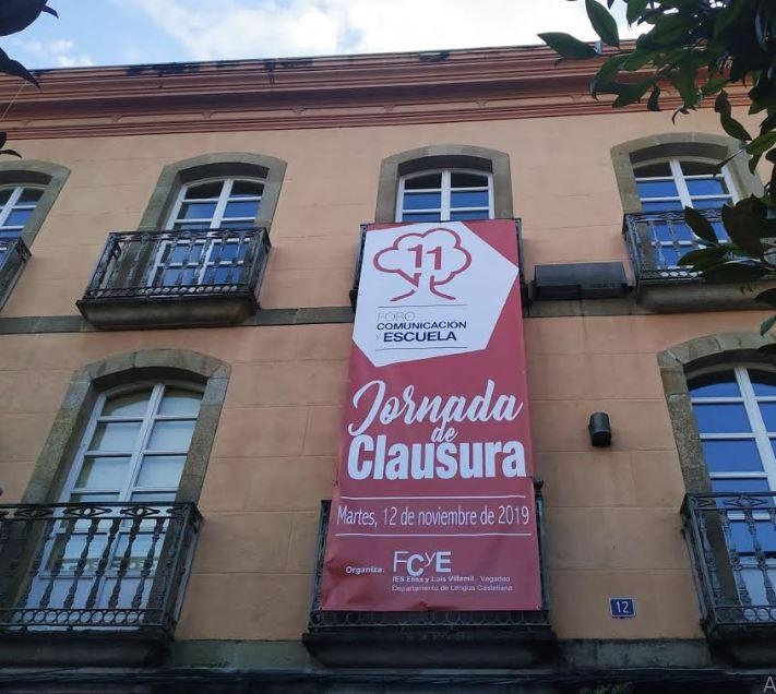 El Auditorio Félix Menéndez acogerá el acto institucional de clausura de este XI Foro Comunicación y Escuela