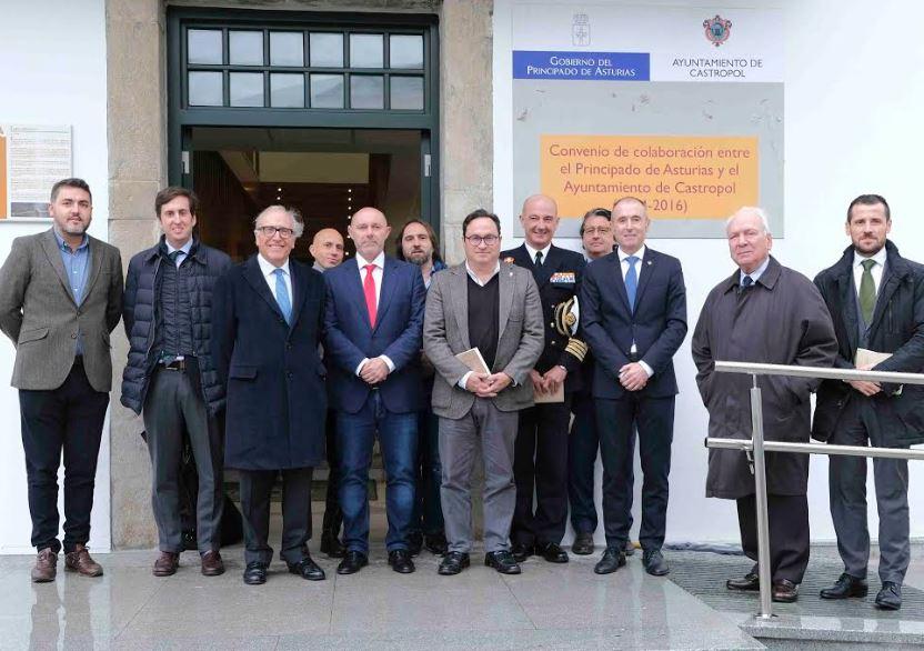 Recepción en el Ayuntamiento de Castropol